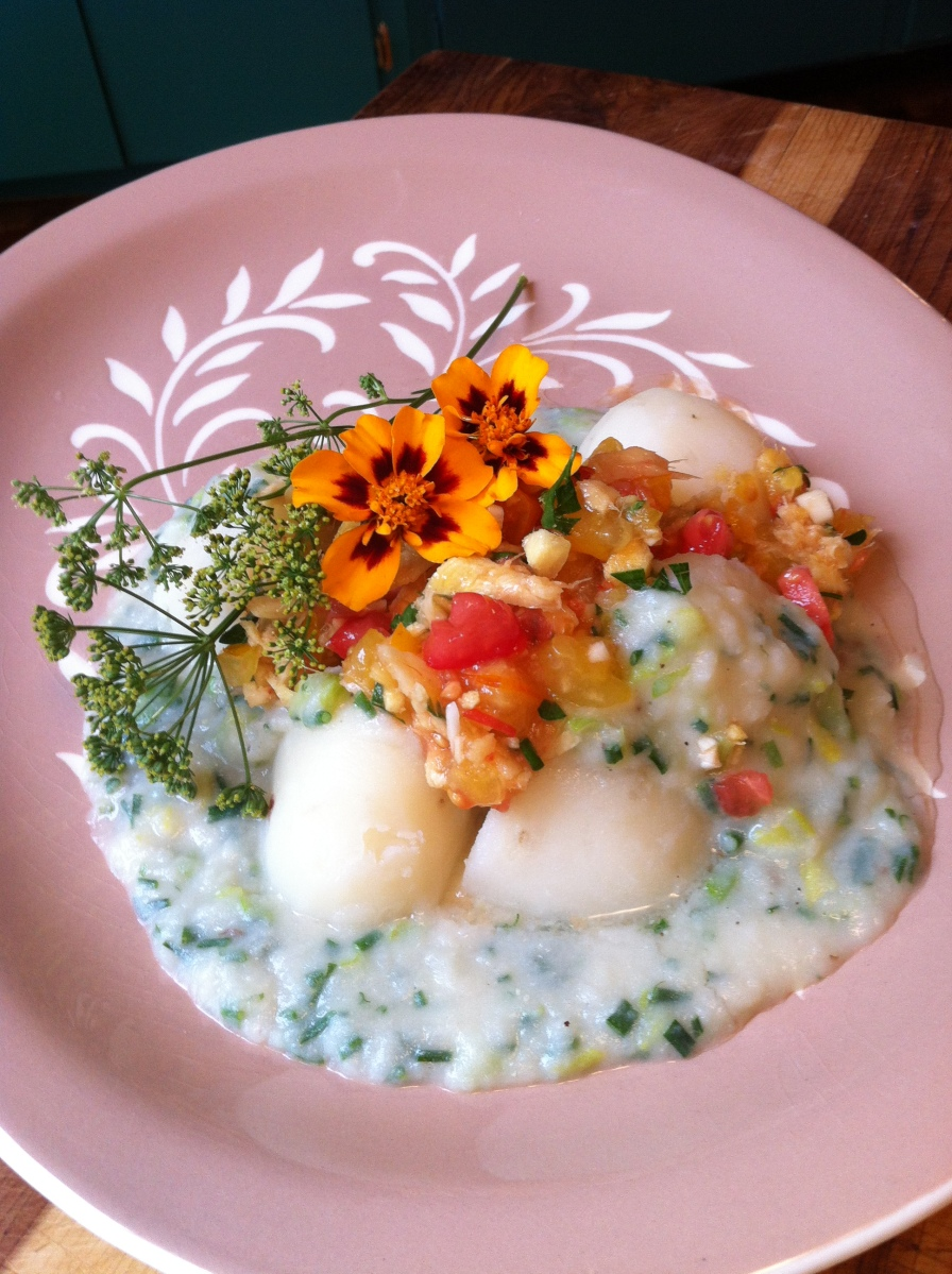 Potatoes - Tomatoes; and an authentic Ecuadorian recipe from the Andean Highlands