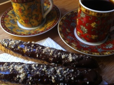GF Chocolate Dipped Almond Biscotti - Gluten Free of Course!
