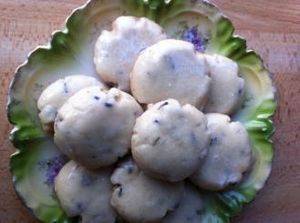 GF Irresistible lavender shortbread
