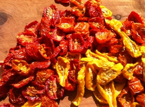 sundried tomatoes for little bursts of flavor!