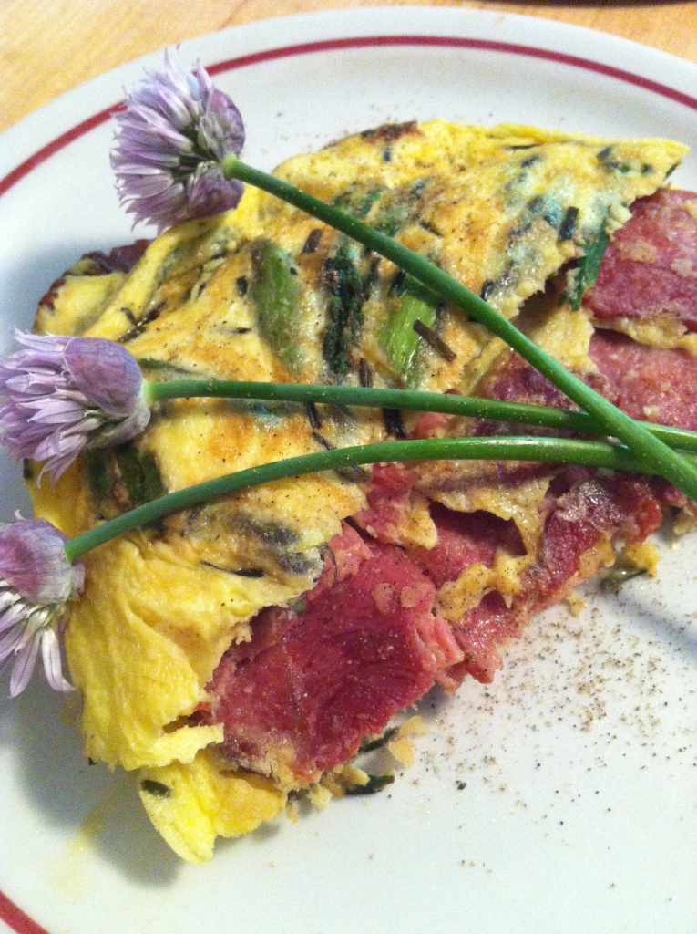 Two Toned Frittata