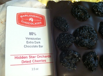 Barlovento Chocolates - unique and amazing flavors, like this one, and a phenomenal tarragon chocolate truffle