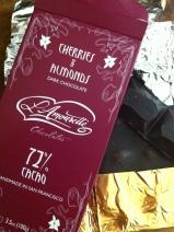 """handmade in San Francisco"" lovely LAmourette Chocolate bar"