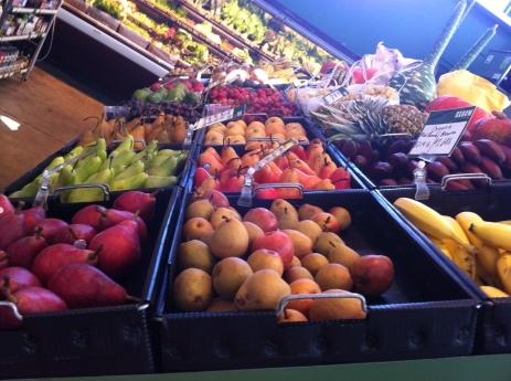 a market in the Oxbow, Napa, California