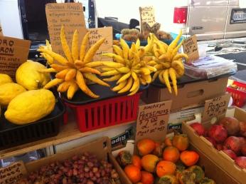 Sunday farmer's market San Raphael, California