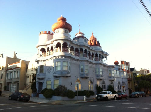 """""""castle in the city"""" former Russian Consulate building"""