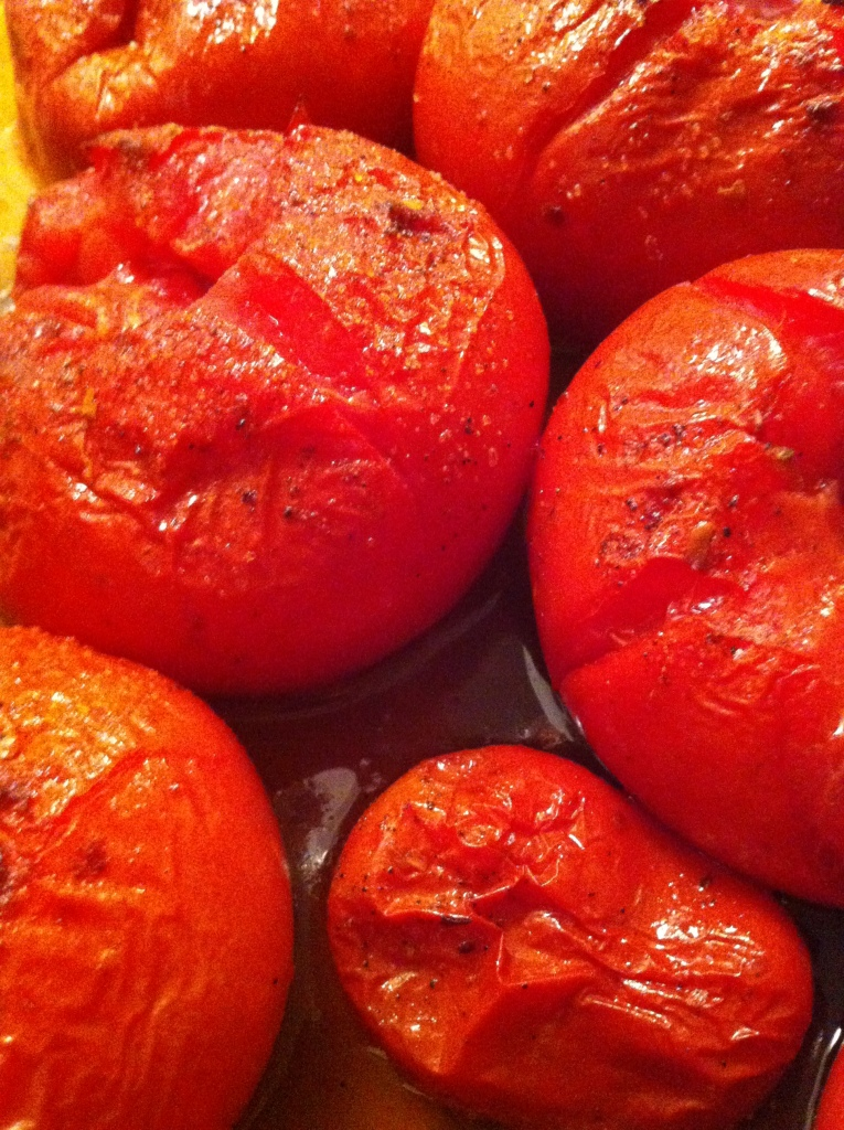 smoked paprika roast tomatoes