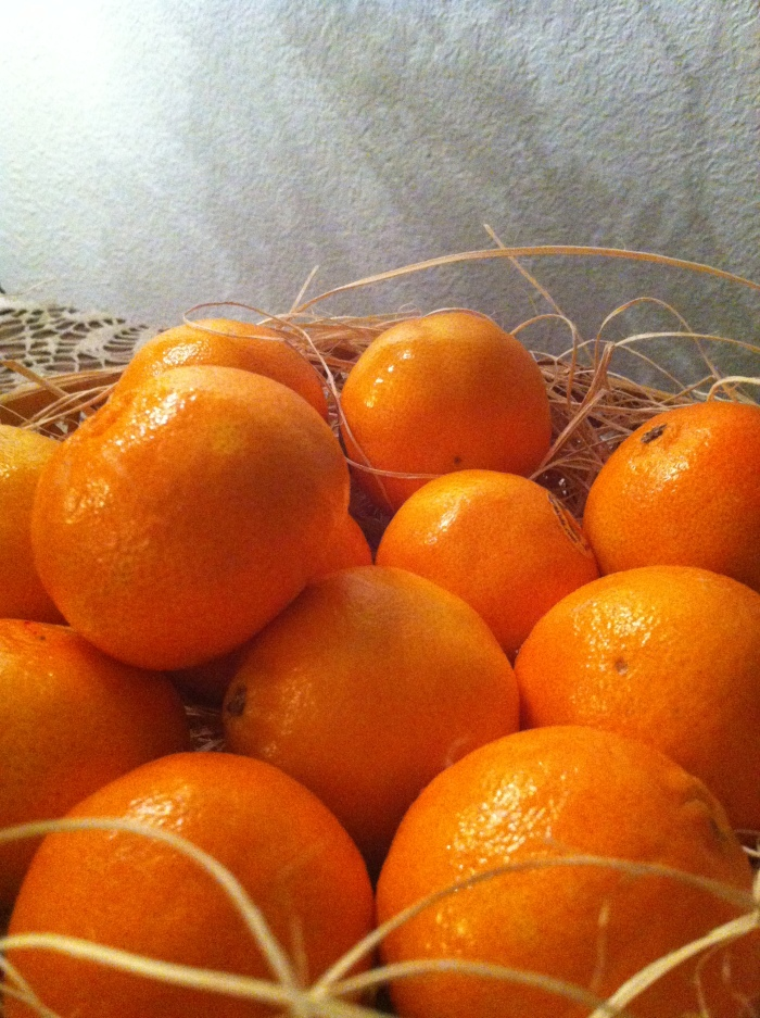 winter glow of clementines