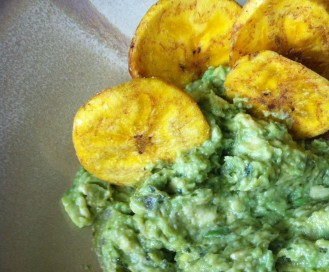 Inka Chips and Quechuan Ginger Avocado Dip