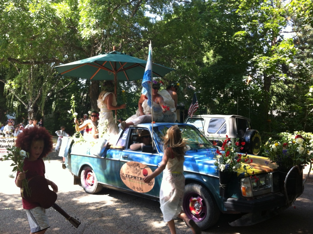 Cherry Days Parade ~ Paonia, Colorado, street life at it's finest