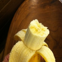 The April Fool's Day Banana, along with a tasty recipe for Banana Jam