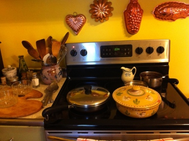 housewarming party kitchen