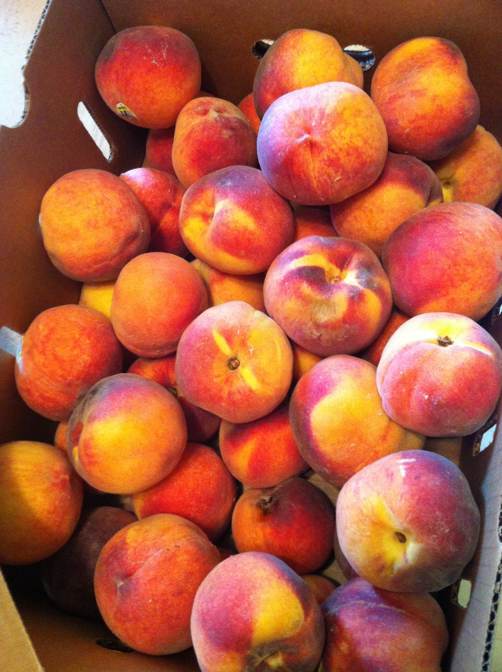 Dominguez Canyon organic peaches