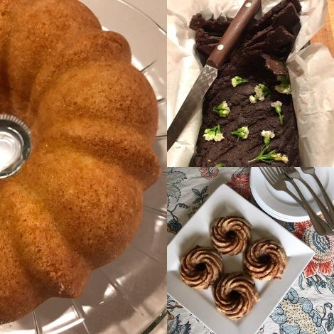 Sample cottage food recipe photo collage