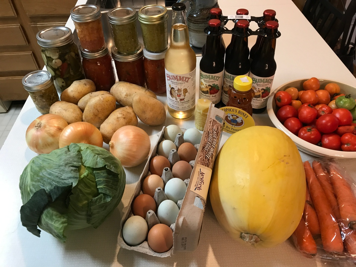 Eat Local Challenge - Three Weeks of Deliciousness Began Today in My Colorado Kitchen