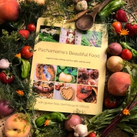 Pachamama's Beautiful Food book proof is here! So close to publication!!