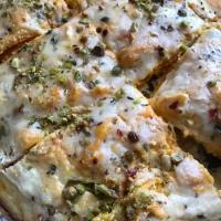 Garlicky butternut squash lasagna